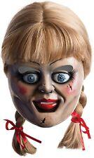 MUJER HOMBRE Annabelle Halloween Terror cosplay disfraz máscara