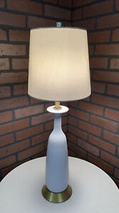 Vintage Retro Mid Century Danish Modern Atomic Bottle Lamp Circa 1960s