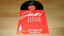 "JAKI GRAHAM - STEP RIGHT UP (RARE PURE DANCE MIX PROMO ONLY 12"" VINYL SINGLE)"