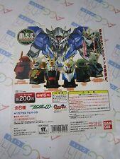 Magnetic Scout Gundam M.S.G. Gashapon Toy Vending Machine Paper Display Card 00