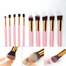 10Pcs Makeup Brushes Tools Soft Contour Foundation Face Lip Brushes Kabuki Brush
