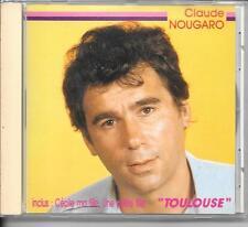 CD COMPIL 15 TITRES--CLAUDE NOUGARO--TOULOUSE / CECILE MA FILLE