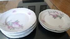 Lot of 4 German Porcelain Koenigszelt Silesia 1920's Bread plates