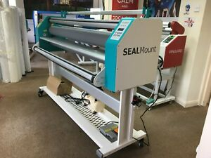 Sealmount 1600h 64 inch Hot/Cold laminator NEW  £2,995.00 or lease  £23.49