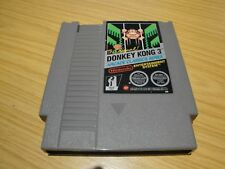 DONKEY KONG 3. MATTEL.  NINTENDO NES. PAL A. QUICK DELIVERY. THOROUGHLY CLEANED