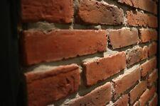 OLD BRICK Brick Slips Slim Bricks Brick Tiles Reclaimed Brick Cladding ORANGE
