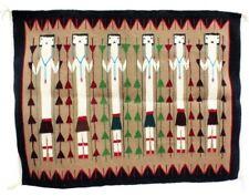 "Mary Kee, Yei Rug, Navajo Handwoven, 42"" x 28 1/2"""