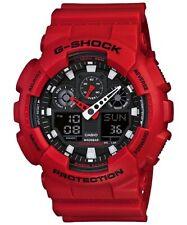 Casio G-Shock *GA100B-4A Coke Red Anadigi Watch for Men COD PayPal