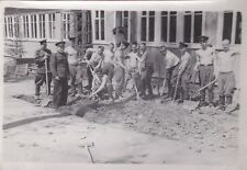 1960s Nude young muscle men soldiers digging gay interest old Russian photo