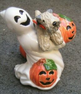 Soft Coated Wheaten Terrier GHOST CANDLESTICK!