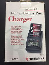F123 - RadioShack 23-327 Ni-CD/Ni-MH RC Battery Charger 4.8 6V 9.6V Tyco Nikko