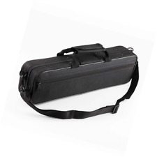 Vangoa Waterproof Carrying Padded Flute Gig Bag case for 16 Holes C Foot with Ad