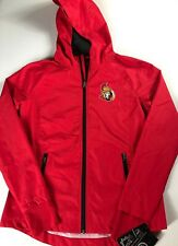 Ottawa Senators Running Jacket Womens Small Reflective Windbreaker Hooded Hockey