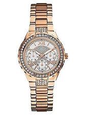 GUESS Armbanduhren mit Datumsanzeige und Glanz-Finish für Damen