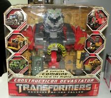 TRANSFORMERS ROTF CONSTRUCTICON DEVASTATOR COMBINER LIGHTS SOUNDS US SHIP!