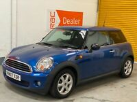 2007 MINI ONE 1.4 PETROL 3DR HATCH R56 *37K* FSH PRIVACY ULEZ NO RESERVE