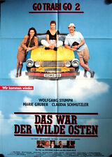 Go Trabi Go 2  Filmposter A1 Das war der wilde Osten Wolfgang Stumph Gruber