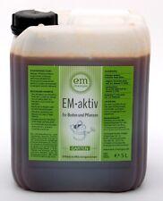 EM-aktiv 5 Liter Allround-Mittel aus Zuckerrohrmelasse