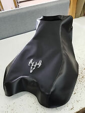 Honda rincon 680 650  seat cover black gripper with deer logo