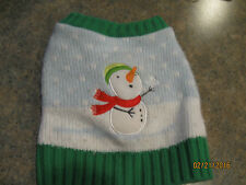 New listing Let It Snow Snowman Xs Dog Sweater