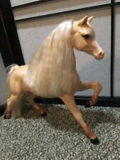 Vintage 1993 Barbie Horse Mattel Western Stampin Star Pony Sparkly Hair Blonde