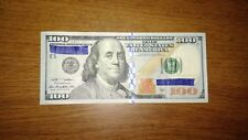 $100 Bill (One Hundred Dollar Bill)-Lightly Circulated