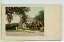 VINTAGE UDB Postcard ~ Historic ~ Birthplace of Israel Putnam, Danvers, MASS