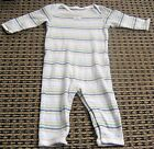 COUNTRY ROAD BABY BOYS STRIPED ROMPER SZ 3 - 6 MONTHS