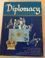 Avalon Hill: Diplomacy Bookcase Board Game The Game of International Intrigue G