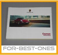 NEU Porsche Cayman 981 Betriebsanleitung Bedienungsanleitung Handbuch Bedienung