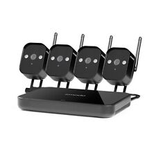 Zmodo NVR Funk Sicherheitesystem 4 720p WLAN Außen Überwachungskameras SET 500G
