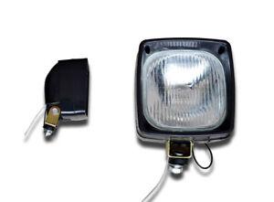 2 BIG 12V FRONT BULL BAR 55W H3 ROOF LIGHTS DAY LAMPS CAR TRUCK 4x4 PICKUP VAN