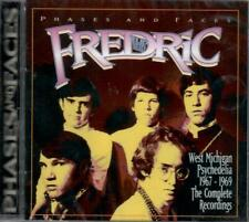 THE FREDRIC - PHASES & FACES 1967-69 MICHIGAN POP PSYCH ROCK SEALED CD +5xtrks