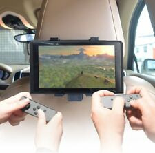 Anti-shake Adjusting 360°Rotation Car Headrest Mount Holder for Nintendo Switch