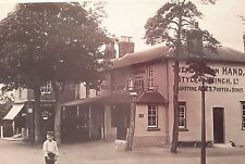 "BIRD IN THE HAND PUBLIC HOUSE, COXHEATH, MAIDSTONE, KENT 7X5"" REPRODUCED PRINT"