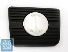 1968-74 Chevrolet Cars Brake Pedal Pad - Manual With Disc Brakes