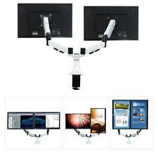 "Boost Universal DM1527-D Dual Monitor Desktop Mount for Screens 15""- 27"" (White)"