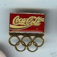 SPONSOR old COCA-COLA pin ENAMEL tacpin OLYMPICS