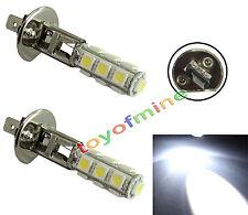 2x bombilla coche H1 5050 SMD 13 LED 12V DC Cabeza Niebla lámpara de luz