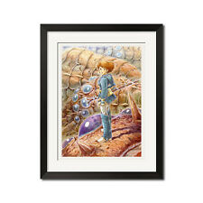 Hayao Miyazaki Nausicaa of the Valley of the Wind Poster Print 0448