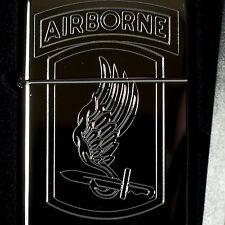 Lighter - 173rd Airborne High Polish Chrome