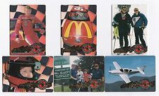 1995 Action Packed PREVIEW Bill Elliott Complete 6 card set BV$8!