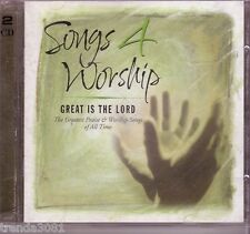 Time Life Songs 4 Worship Great is Lord 2CD All Time Best DON MOEN TWILA PARIS
