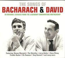 THE SONGS OF BACHARACH & DAVID - 2 CD BOX SET - DIONNE WARWICK & MORE