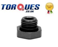 AN -8 (AN8 AN 08) Hex Head Port Plug with O ring Black
