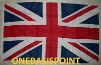 3'x5' British Flag Outdoor UK Union Jack United Kingdom King Queen Huge 3x5 New