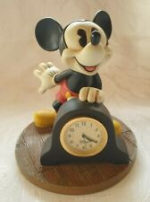 More details for disney mickey mouse quartz battery operated desk-clock
