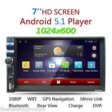 Autoradio GPS Navigation 2DIN Android 5.1.1 FM Bluetooth A2DP Stereo Giocatore
