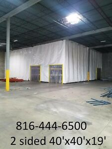 walk in cooler freezer warehouse refrigerated insulated temperature zoning