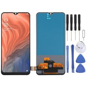 For Oppo Reno Z / K5 TFT Screen Touch Digitizer No Finger ID Assembly BLACK